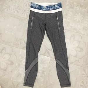 Lululemon zipper pocket leggings